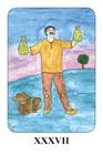 2: a kártya válasza